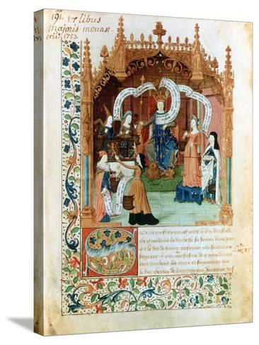 Louis XI, 15th Century--Stretched Canvas Print