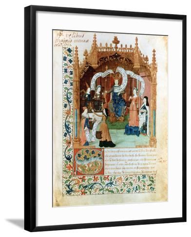 Louis XI, 15th Century--Framed Art Print