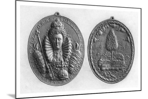 Queen Elizabeth I Medal, 16th Century--Mounted Giclee Print