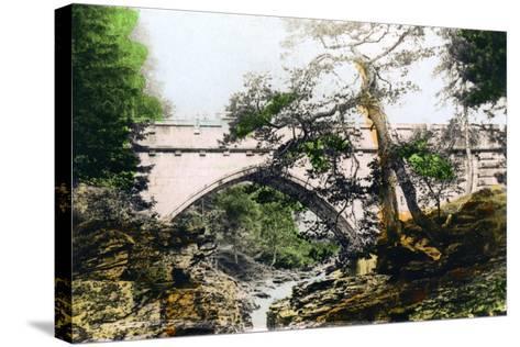 The Linn of Dee, Braemar, Aberdeenshire, 1926--Stretched Canvas Print