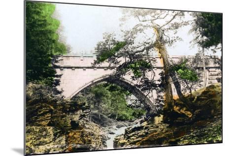 The Linn of Dee, Braemar, Aberdeenshire, 1926--Mounted Giclee Print