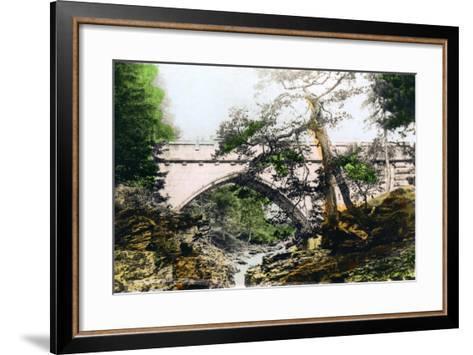 The Linn of Dee, Braemar, Aberdeenshire, 1926--Framed Art Print
