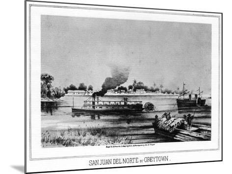 San Juan Del Norte (Greytow), California, 19th Century- Nagel & Schwartz-Mounted Giclee Print
