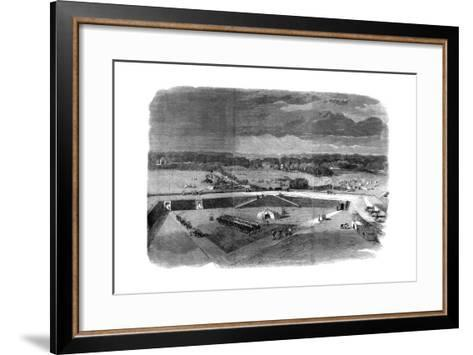 Brigadier-General Havelock Leaving the Fortress of Allahabad to Recapture Cawnpore, 1857--Framed Art Print