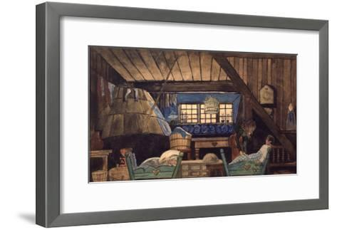 Stage Design for the Theatre Play the Blue Bird by M. Maeterllinck, 1908--Framed Art Print