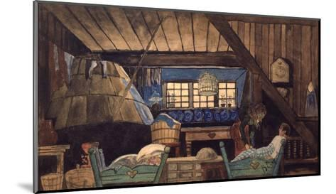 Stage Design for the Theatre Play the Blue Bird by M. Maeterllinck, 1908--Mounted Giclee Print