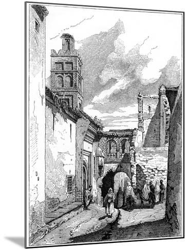 Street View in Tlemcen, Algeria, C1890--Mounted Giclee Print