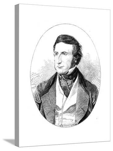 Sir George Cornewall Lewis (1806-186), British Statesman and Man of Letters--Stretched Canvas Print