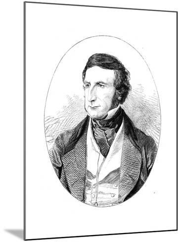Sir George Cornewall Lewis (1806-186), British Statesman and Man of Letters--Mounted Giclee Print