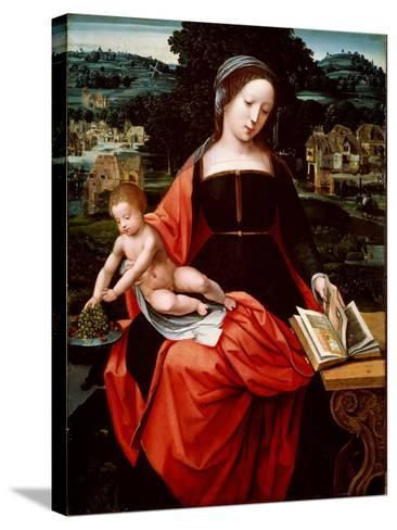 Virgin and Child, 1530s-1540s--Stretched Canvas Print