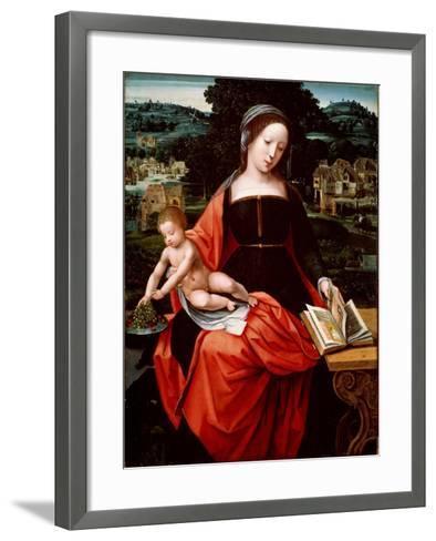 Virgin and Child, 1530s-1540s--Framed Art Print