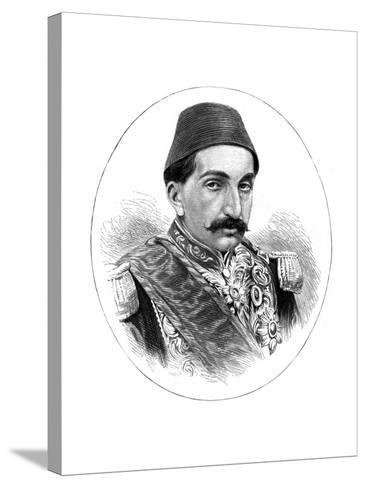 Abdul Hamid II, Sultan of Turkey, 19th Century--Stretched Canvas Print
