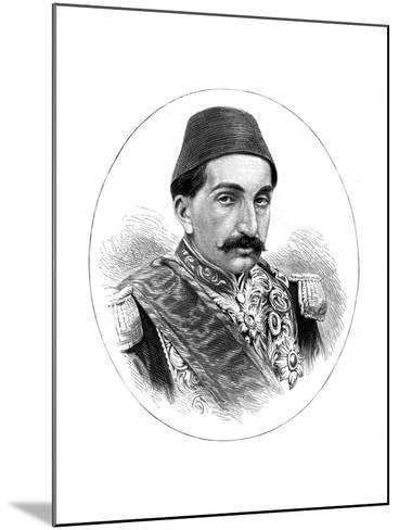 Abdul Hamid II, Sultan of Turkey, 19th Century--Mounted Giclee Print