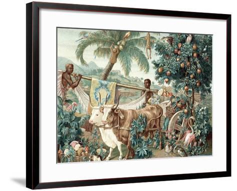 Wealth of the Indies, 17th Century--Framed Art Print