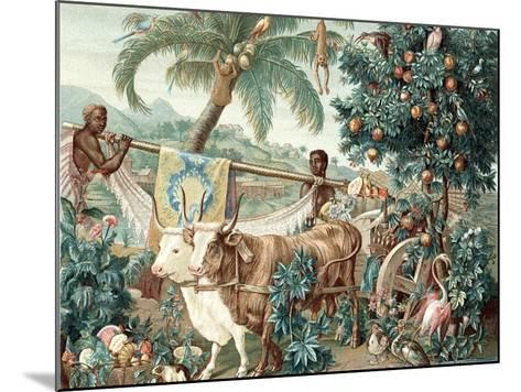Wealth of the Indies, 17th Century--Mounted Giclee Print