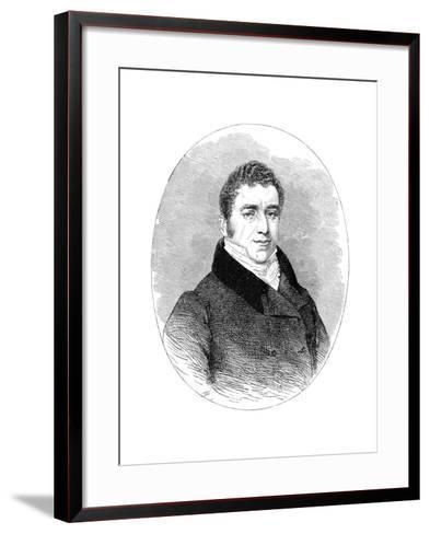Joseph Hume, (1777-185), 19th Century--Framed Art Print