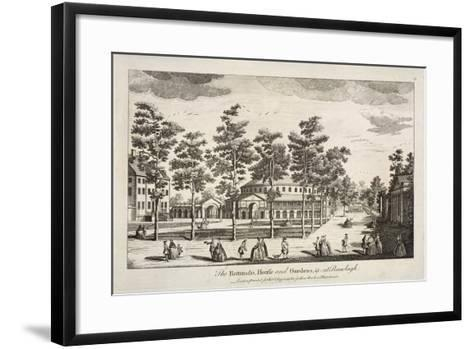 The Rotunda and Ranelagh House in Ranelagh Gardens, Chelsea, London, C1750--Framed Art Print