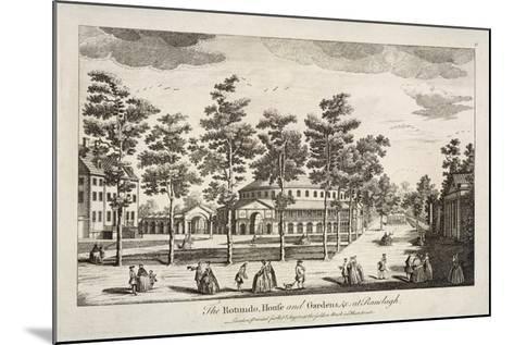 The Rotunda and Ranelagh House in Ranelagh Gardens, Chelsea, London, C1750--Mounted Giclee Print
