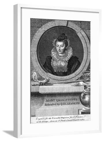 Mary, Queen of Scots, (1542-158)--Framed Art Print