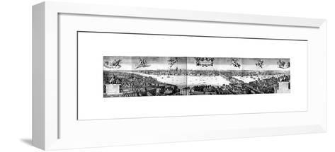 View of London, C1650-Wenceslaus Hollar-Framed Art Print