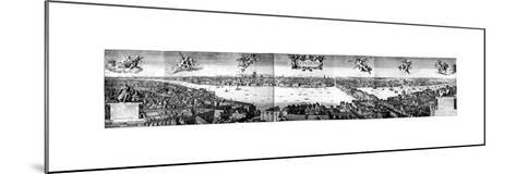 View of London, C1650-Wenceslaus Hollar-Mounted Giclee Print