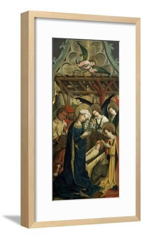 The Nativity of Christ, C1440--Framed Art Print
