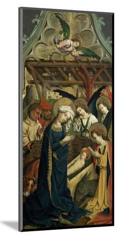 The Nativity of Christ, C1440--Mounted Giclee Print