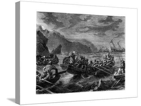 The Franks Cross the Raging Sea, 1882-1884--Stretched Canvas Print