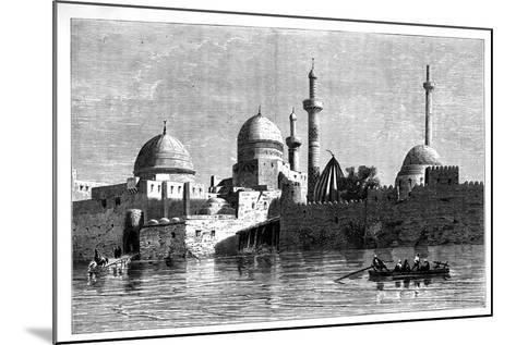 View of Mosul from the River Tigris, Iraq, C1890--Mounted Giclee Print