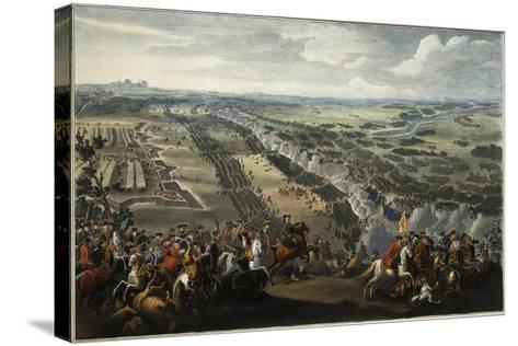 The Battle of Poltava on 27th June 1709, after 1724-Pierre-Denis II Martin-Stretched Canvas Print