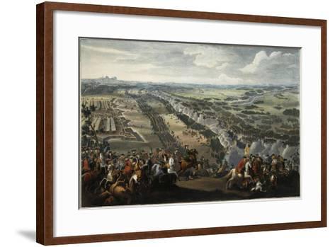The Battle of Poltava on 27th June 1709, after 1724-Pierre-Denis II Martin-Framed Art Print