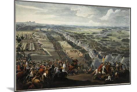 The Battle of Poltava on 27th June 1709, after 1724-Pierre-Denis II Martin-Mounted Giclee Print