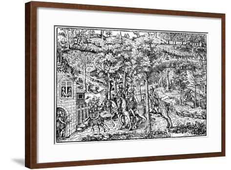 Assassination of Francois De Guise by Jean Poltrot De Mere, 1898--Framed Art Print