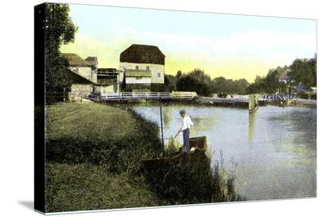 Shiplake, Oxfordshire, 20th Century--Stretched Canvas Print