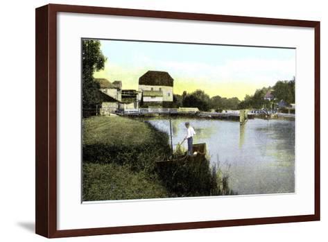 Shiplake, Oxfordshire, 20th Century--Framed Art Print
