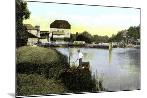 Shiplake, Oxfordshire, 20th Century--Mounted Giclee Print