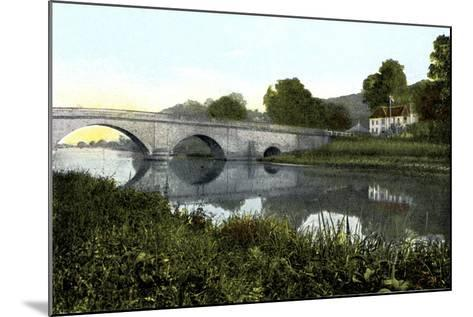 Shillingford Bridge, 20th Century--Mounted Giclee Print