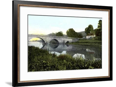Shillingford Bridge, 20th Century--Framed Art Print