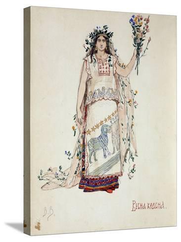 Spring Beauty, 1885-Viktor Mikhaylovich Vasnetsov-Stretched Canvas Print