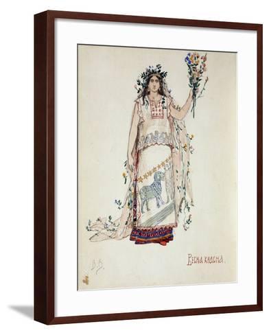 Spring Beauty, 1885-Viktor Mikhaylovich Vasnetsov-Framed Art Print