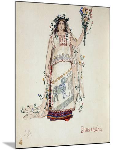 Spring Beauty, 1885-Viktor Mikhaylovich Vasnetsov-Mounted Giclee Print