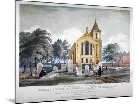 St Leonard's Church, Bromley-By-Bow, London, C1860-H Jones-Mounted Giclee Print