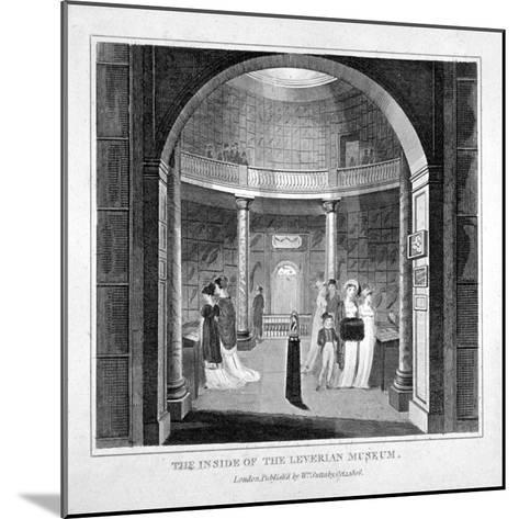 Interior View of the Leverian Museum, Albion Place, Southwark, London, 1806--Mounted Giclee Print