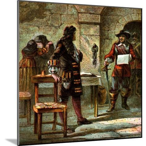 Lord William Russell Condemned, 1683--Mounted Giclee Print