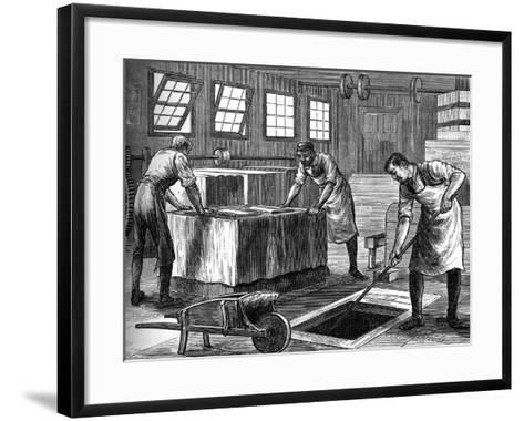 The Slip-House, C1880--Framed Art Print