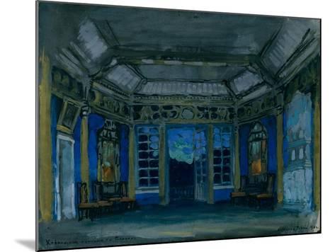 Stage Design for the Opera Khovanshchina by M. Musorgsky, 1911-Konstantin Alexeyevich Korovin-Mounted Giclee Print