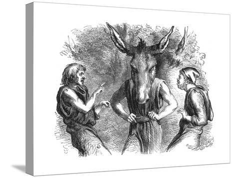 Scene from Shakespeare's a Midsummer Night's Dream--Stretched Canvas Print