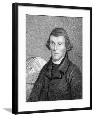Henry Andrews, English Astronomical Calculator, Author of Moore's Almanack, C1800--Framed Art Print