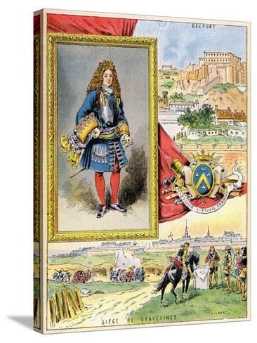 Sébastien Le Prestre De Vauban, French Military Engineer, 1898--Stretched Canvas Print