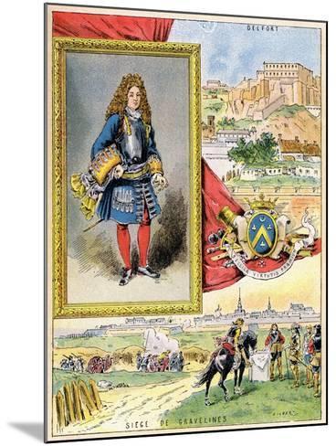 Sébastien Le Prestre De Vauban, French Military Engineer, 1898--Mounted Giclee Print